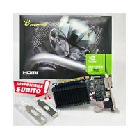 Tarjeta Gráfica Nvidia Geforce Gt 710 1GB DDR3 GT710 Low Profile LP