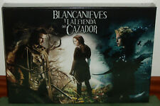 BLANCANIEVES Y LA LEYENDA DEL CAZADOR EDICION LIMITADA BLU-RAY+DVD+LIBRO NUEVO