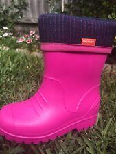 Ultralight Kids Gumboots - Pink