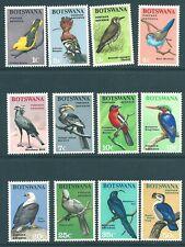 More details for botswana 1967 mint birds short set to 50c