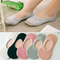 Summer Fashion Women's Short Ankle Cotton Socks Candy Color Low Cut Boat Sock EB