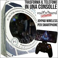 JOYPAD GAMEPAD GAME WIRELESS BLUETOOTH PER Samsung Galaxy Ace Plus S7500