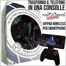 JOYPAD GAMEPAD GAME WIRELESS BLUETOOTH PER SONY ERICSSON XPERIA C