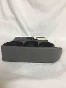 01-07 DODGE CARAVAN CHRYSLER TOWN & COUNTRY DASH CUP HOLDER ASSEMBLY GRAY GREY