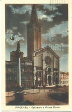 PIACENZA - CATTEDRALE E PIAZZA DUOMO 1932
