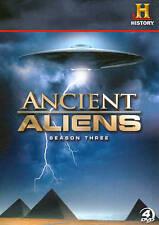 Ancient Aliens Season Three DVD 2012 4-Disc Set Free Shipping