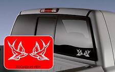 SPARROW Swallow Bird Set Tattoo Decal Vinyl Sticker Love Car Truck Laptop 2 pack