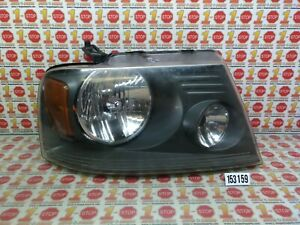 FITS 06 07 08 FORD F150 PASSENGER RIGHT SIDE BLACKED BACKGROUND HEADLIGHT LAMP