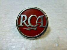 "Original 1930s 1940s RCA Broadcast Equipment "" RCA "" Badge Logo Emblem ! ! !"