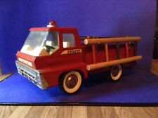 Structo Ertl Vintage Firetruck With Turbine Sound