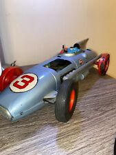 Cragstan 1961 Tin Toy Race Car Firebird #3 Indianapolis 500 Tin Rare Japan