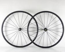 Carbon Road Bike Wheels 700C 24mm Novatec 271/372 Hub Clincher/Tubular Wheelset