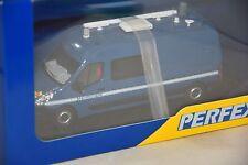 PERFEX 711 - RENAULT MASTER LONG MINIBUS GENDARMERIE BLEUE 1/43