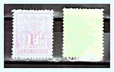 "LUXEMBURG: 1882 Mi: LU-55 ""Heraldic Scenes"" 1Fr MNH"