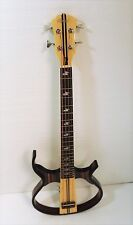 4 String Silent Bass, Hollow Body, With A Free Padded Gig Bag-090X-U-ES