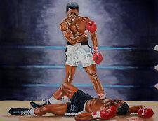 Muhammad Ali v Sonny Liston by David Putland - A3 Limited edition Prints