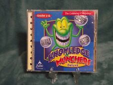 Knowledge Munchers Deluxe CD-ROM