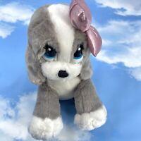 "Aurora Sad Sam & Honey Plush Honey 9"" Pink Bow Stuffed Animal"