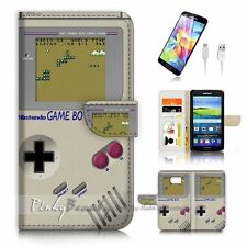 ( For Samsung S7 ) Wallet Case Cover P3305 Game Boy