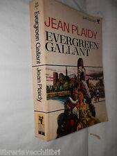 EVERGREEN GALLANT Jean Plaidy Pan Books 1965 romanzo di