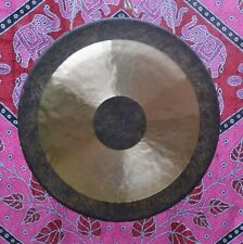 "Bronze handcrafted Chau Gong 18"", 24"" or 38"" (Tam Tam) with mallet and bag"