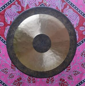"""Bronze handcrafted Chau Gong 18"""", 24"""" or 38"""" (Tam Tam) with mallet and bag"""