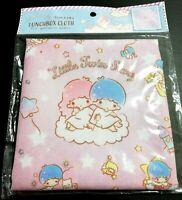 New SANRIO Little Twin Stars Kawaii Cute Lunch box Cloth mat napkin square 43cm