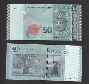 Malaysia 50 Ringgit (2020) P50c New Sign Nor Shamsiah Mohd. Yunus banknote UNC