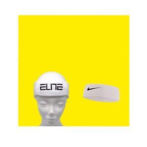 Nike Elite Kids' Headband Size One Size (White) basketball sports baseball run