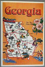 UNUSED Vintage Postcard - Georgia State Ex Cond