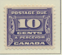 Canada Stamp Scott #J14, Mint Hinged