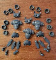 Warhammer 40k Space Marine Army Bits: Primaris Inceptors Jump Packs x3