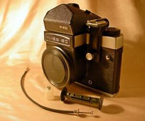 KIEV-60 6x6 camera BODY w TTL PRISM USSR medium format 6x6cm Pentacon-six 1990