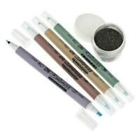 Kuretake ZIG Dual Tip Emboss Pens - 4pcs Set + FREE EMBOSSING POWDER