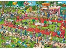 Heye 29788 Dog Show Tanck Triangular Jigsaw Puzzle - 1000 Pieces