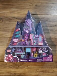 """Rare MLP Celebration At """"Canterlot Castle"""" Exclusive Playset! by Hasbro 2010"""
