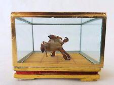Vintage Chinese Miniature Folk Art Maohou (Hairy Monkey) Two Dancers, Provenance