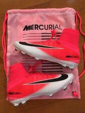 Nike Mercurial Superfly V DF FG 2017 Racer Pink Black White 831940 601 Size 9.5