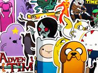 30 Adventure Time Kids Cartoon Laptop Phone Skateboard Stickers Decals #BQ