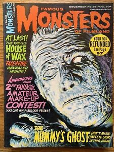 Famous Monsters of Filmland #36 FN+ WARREN The Mummy's Ghost