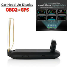 OBD2+GPS Car Head Up Display Speed/RPM/Voltage Warning Projector Fault Code Scan