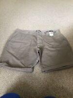 BNWT Mens Primark Shorts Beige Size 38 Waist