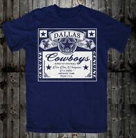 DALLAS KINGS OF FOOTBALL  COWBOYS Genuine Fan Tailgate  T- Shirt