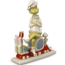 Lenox Dr. Seuss All Aboard with Mr. Grinch Figurine - #843353-MSRP $150-COA-NIB