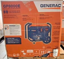Generac GP8000E 8000 Watt w/ Electric Start - Gas Powered Portable Generator