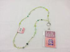 StyleWear Fashion ID Colorful Badge Necklace - Green NWT R$12.99