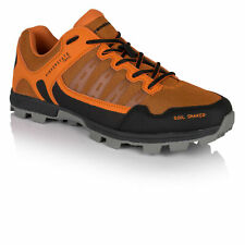 Higher State Mens Soil Shaker Trail Running Shoes Trainers Sneakers Orange