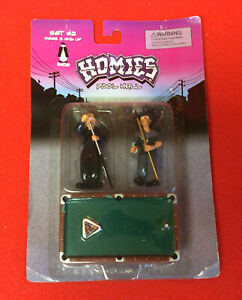 Homies Pool Hall Set #2 New in Package