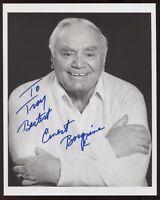 "Ernest Borgnine Signed 8x10 Photo Autographed Photograph Vintage Insc. ""To Troy"""