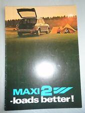 Austin Maxi 2 brochure c1970's ref 3461/A